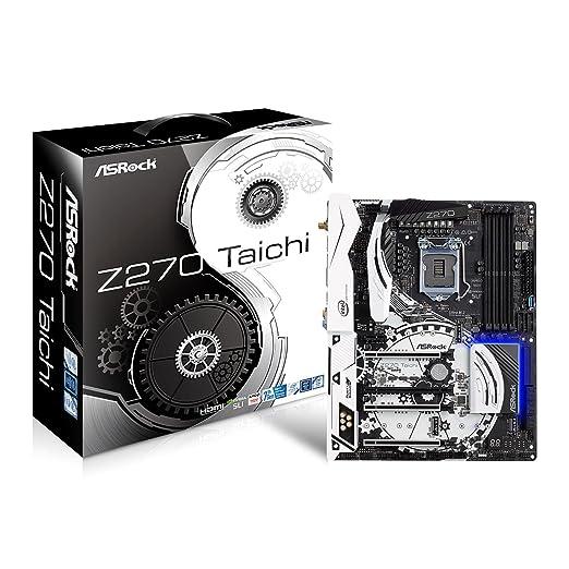ASRock Z270 TAICHI LGA1151/ Intel Z270/ DDR4/ Quad CrossFireX & Quad SLI/  SATA3&USB3 1/ M 2&SATA Express/ WiFi/ A&2GbE/ ATX Motherboard