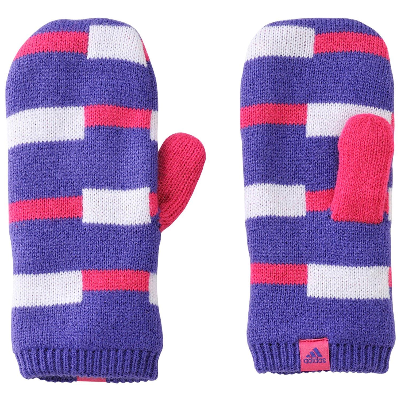 Adidas stripy glov avec caps blapur/wht/blapur