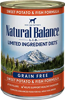 Natural Balance Limited Ingredient Diets Sweet Potato and Fish Formula Dry Dog Food, 26 Pounds, Grain Free