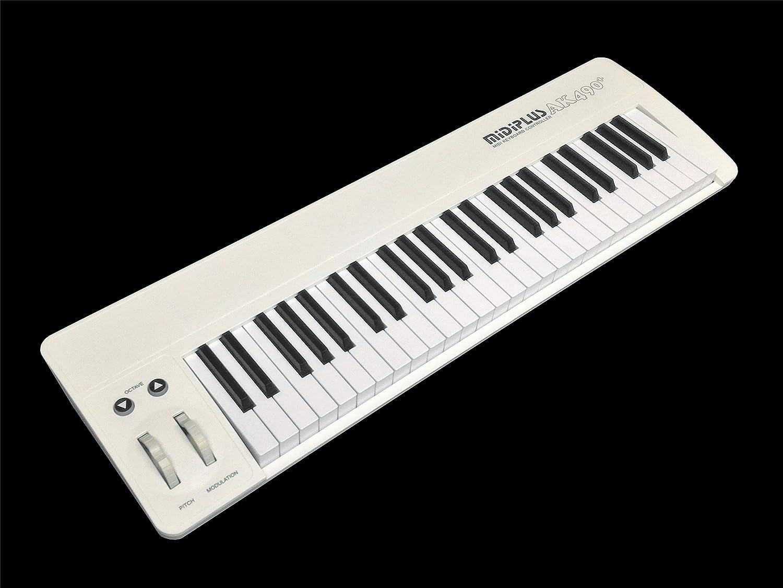 AK490+ midiplus USB MIDI keyboard controller 49-Key