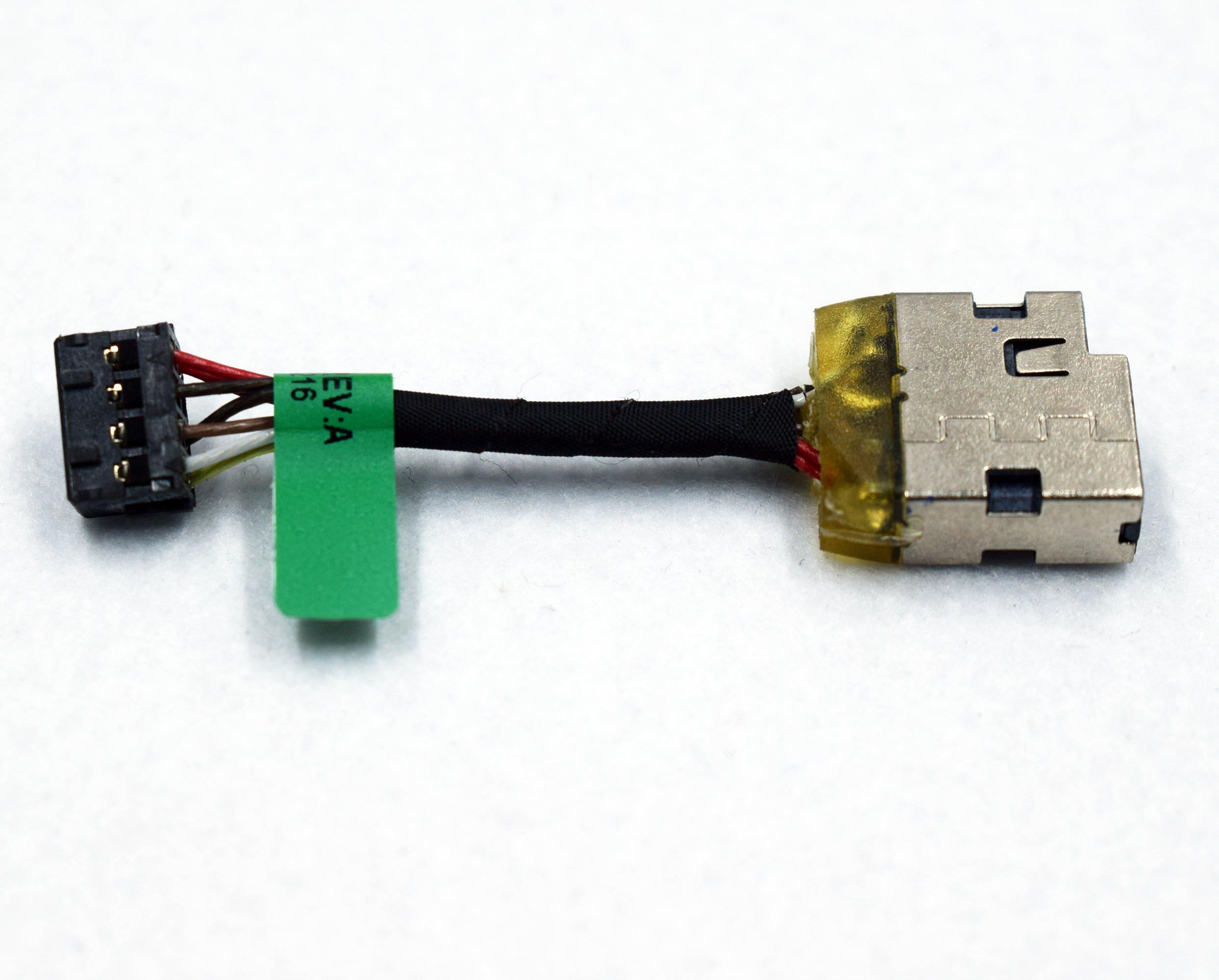 DC Power Jack para Pavilion 15-N 15-P 15-K 15-F 10-E Series