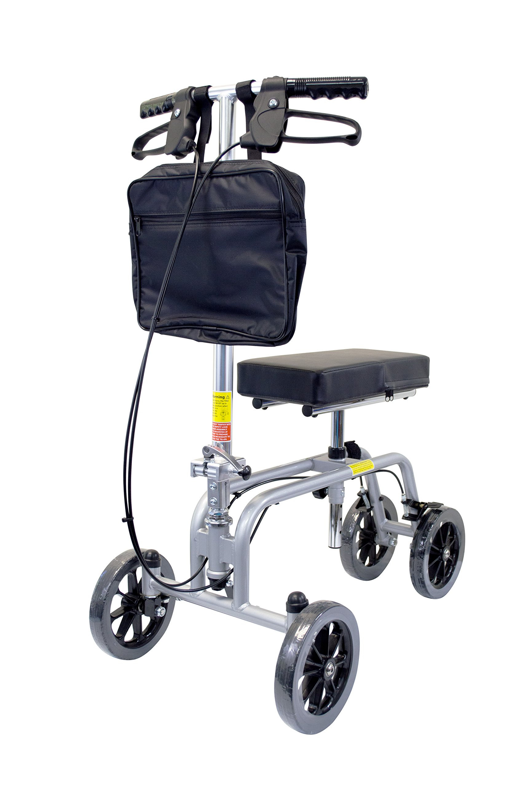 Essential Medical Supply Free Spirit Knee and Leg Walker with Patented Design, Unique Turning Mechanism, Extra Height Adjustability and 400lb Weight Capacity by Essential Medical Supply