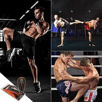 SM SunniMix Coquilles Boxe MMA Hommes Suspensoir Sports Protection Muay Thai Combat Kick Boxing