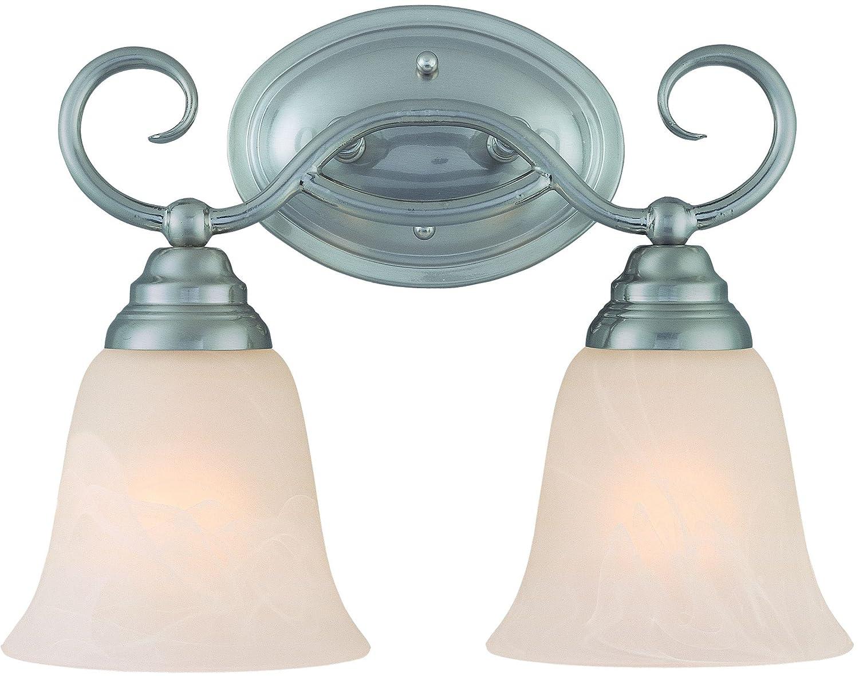Craftmade 25002-SN 2 Light Vanity