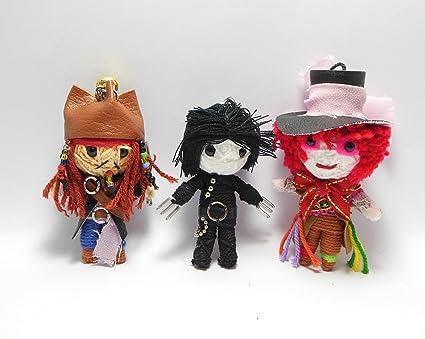 String Doll World Johnny Depp Voodoo Conjunto Doll - Jack ...