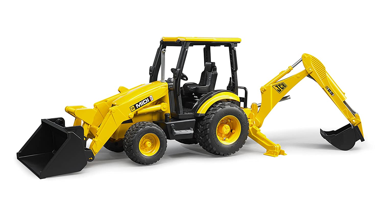 buy bruder 2427 jcb midi cx backhoe loader online at low prices in