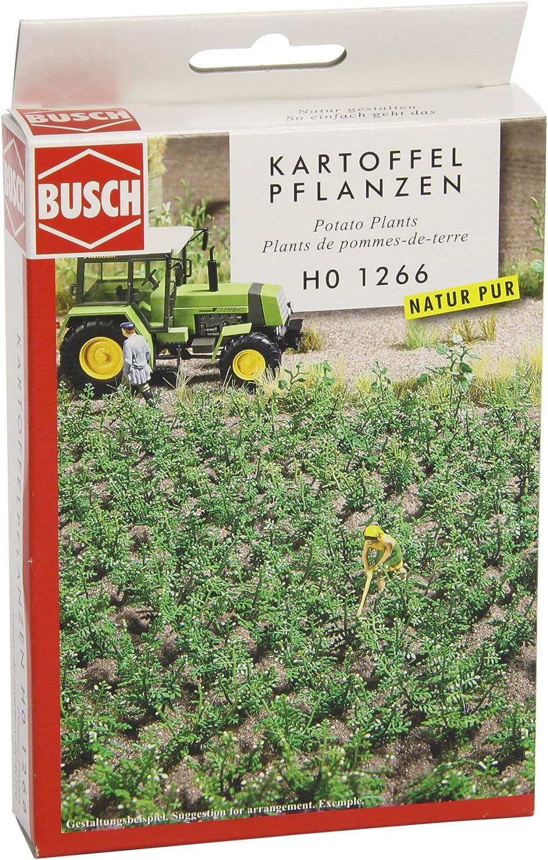 Busch 1266 Potato Plants 30// HO Scenery Scale Model Scenery