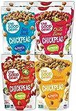 The Good Bean Crunchy Chickpeas Snacks, Variety Pack, 6 Ounce, 6 Count