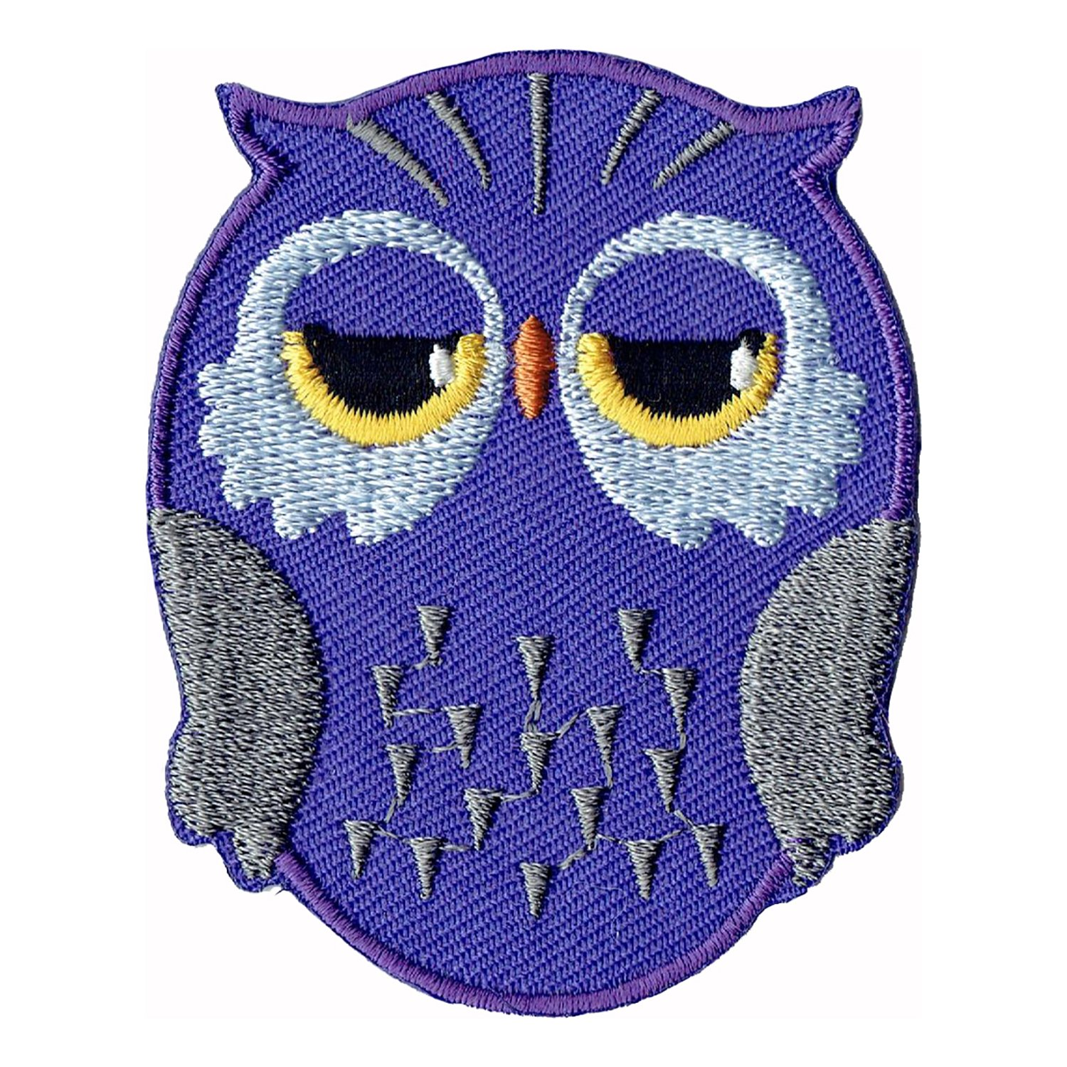 Bestellmich Aufn/äher Owl Sew-On Badge//Iron-On Patch