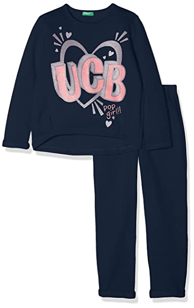 United Colors of Benetton Set Sweater+Trousers, Conjunto para Niñas (Pack de 2): Amazon.es: Ropa y accesorios