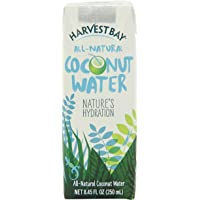 Harvest Bay – All Natural No Added Sugar Coconut Water - 8.45 Ounce (Pack of 12)