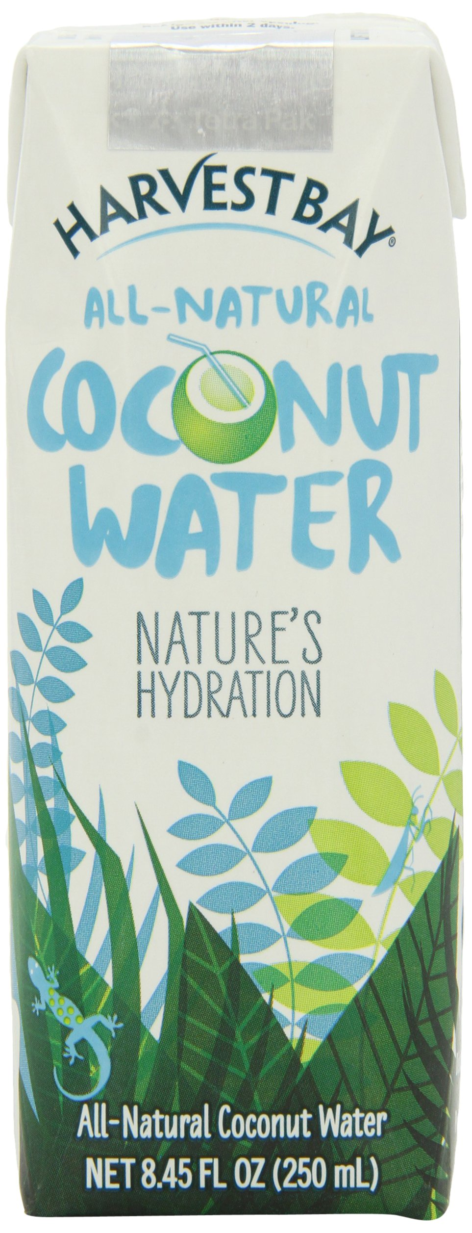 Harvest Bay – All Natural No Added Sugar Coconut Water - 8.45 Ounce (Pack of 12) by Harvest Bay (Image #1)