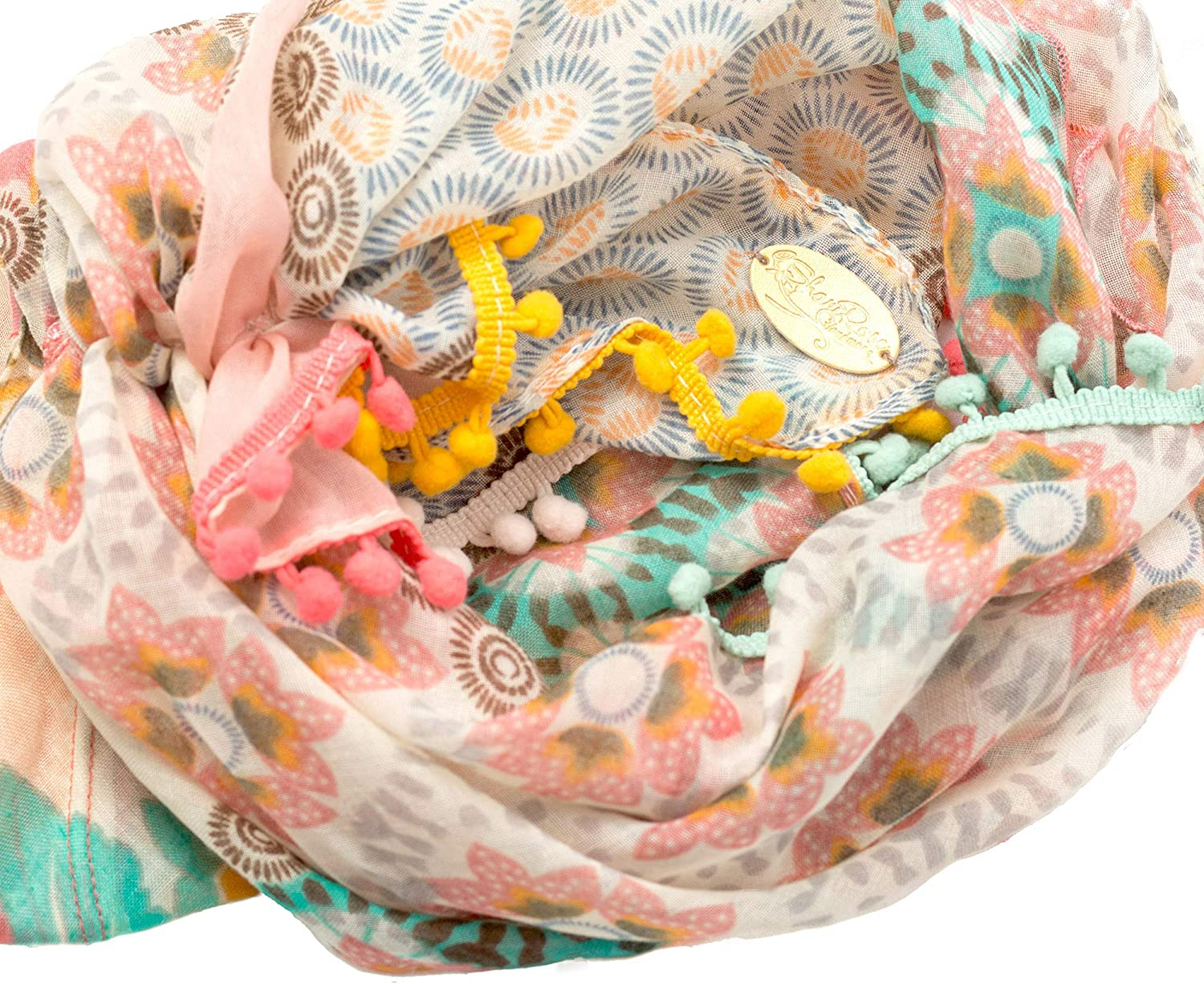 ShariRose Pre-Tied Head Scarf Tichel Head Cover for Women Weightless Collection Handmade Over 30 Colors