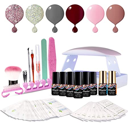 Maphie Gel Nail Starter Kit with UV Light