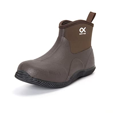 Duck and Fish Neoprene Ankle Hunting Work Shoe