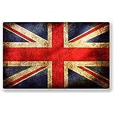 DestinationVinyl # 0006/VS Lot de 2 stickers en vinyle pour voiture motif drapeau britannique