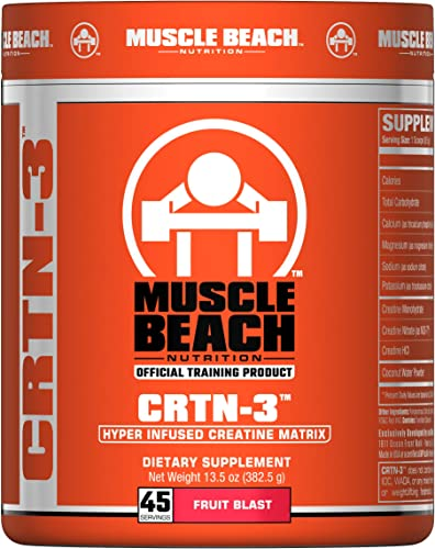 Muscle Beach Nutrition CRTN-3 45 Servings Fruit Blast