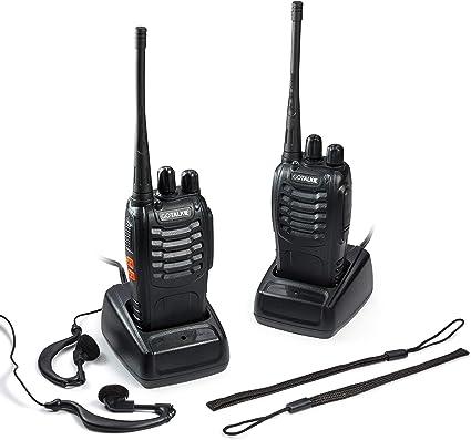 Amazon.com: GoTalkie Radios de dos vías - 400-470MHz CTCSS ...