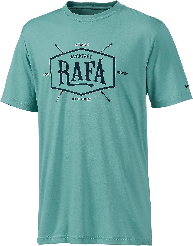Nike Camiseta de Rafa Nadal, Color Verde, tamaño 2XL: Amazon.es ...
