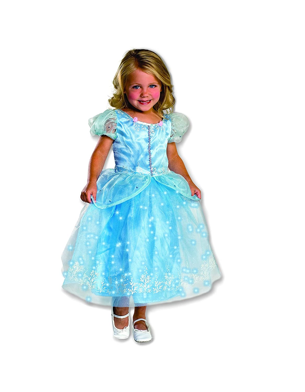 Amazon.com: Child's Crystal Princess Costume with Fiber Optic ...