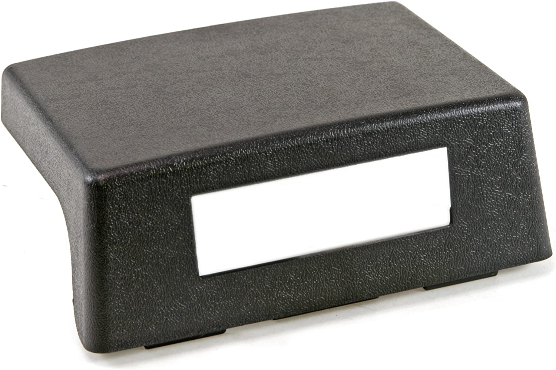 Scott Drake E7ZZ-6104574-BK Black Console Delete Plate