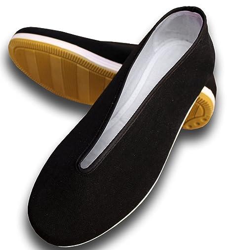 y-double Tai Chi Wu Dang zapatos, color negro, tamaño 40.00