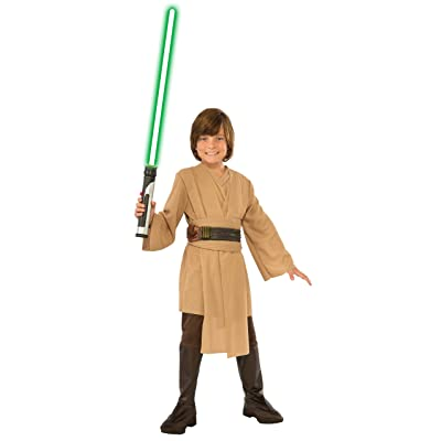 Star Wars Jedi Deluxe Child Costume, Medium: Toys & Games