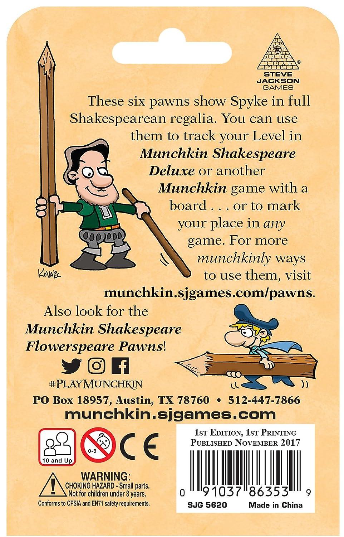 Munchkin Games Shakespreare Spykespeare Pawns