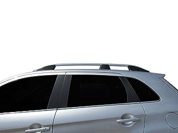 OMTEC Elegance plata barras de rieles de techo para Mitsubi ASX (2010Â -Â 2017Â