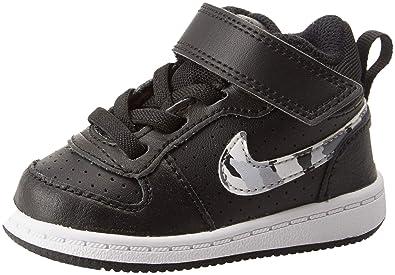 sports shoes dbba7 93d86 Nike Court Borough Mid (TDV), Chaussons Mixte bébé: Amazon.fr ...