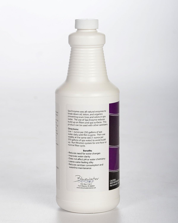 Amazon.com : Natural Spa Enzymes, 1 Quart Prevents Scum Lines ...