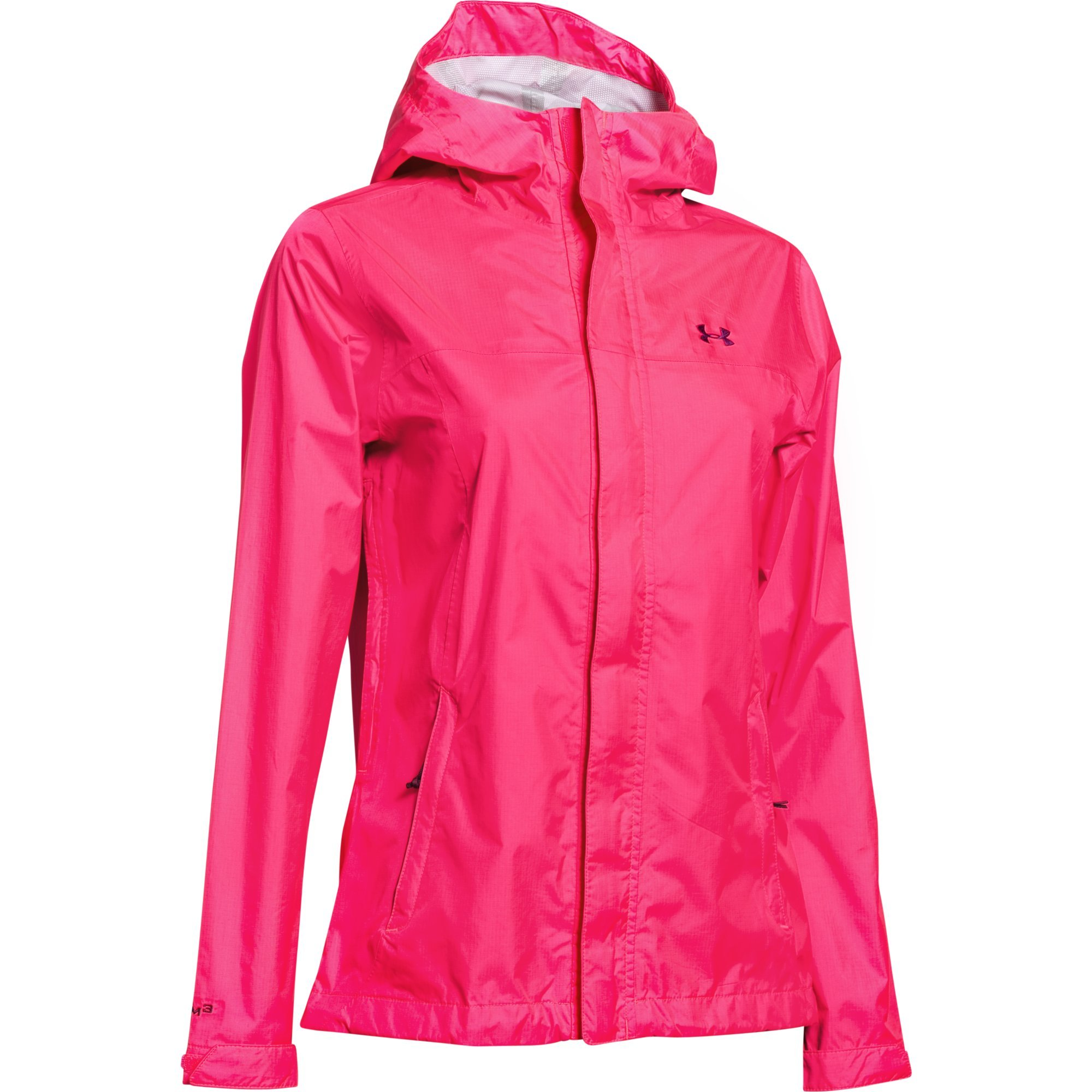 Under Armour Womens UA Surge Jacket Large HARMONY RED