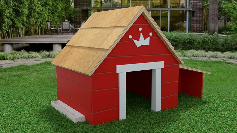 Red Medium Red Medium Fun4PetsAlpine Hut Medium