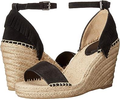 f1d1838ba0e Frye Women's Lila Feather Espadrille Wedge Sandal: Amazon.co.uk ...