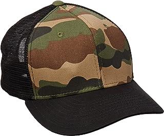 DECKY Cotton Curve Bill Trucker Cap