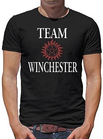 Touchlines Merchandise Winchester Bros Luzifer T Shirt Homme Amazon