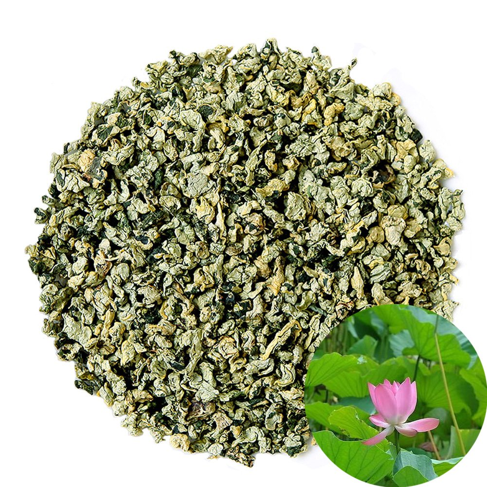 TooGet Natural Lotus Pellets Herbal Tea Organic Dried Loose Leaf Tea Wholesale, Top Grade - 8 OZ