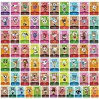 ACNH Tiny NFC Tag Game Villager Tarjetas de invitación – 72 piezas Mini tarjetas de juego NFC para ACNH y otras series…