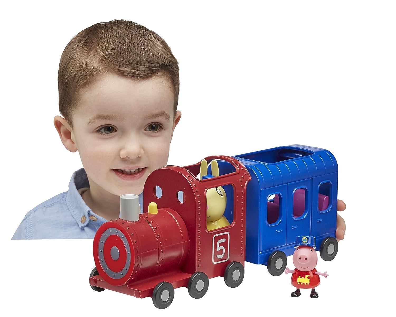 Peppa Pig Locomotora Y Vagon De Juguete Senora Liebre Peppa Pig