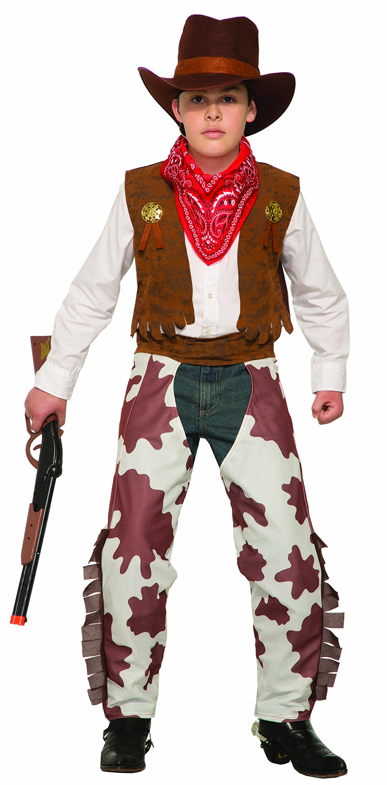 Forum Novelties Cowboy Costume, As Shown, Large by Forum Novelties (Image #1)