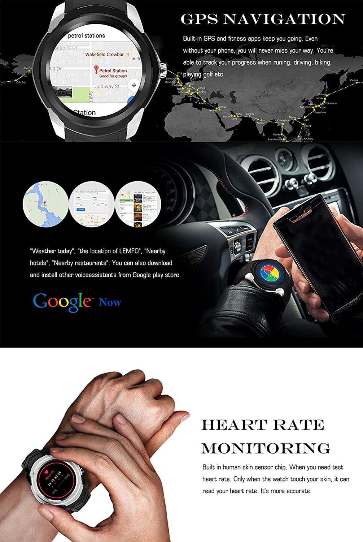 Amazon com: ZYFWBDZ Fitness tracker 3g Bluetooth Smart Watch 1 3