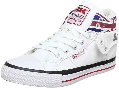 buy online da95b e3327 British Knights Roco Union Jack, Scarpe da Ginnastica a Collo Alto Unisex –  Adulto