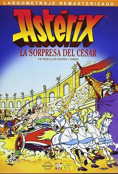 Astérix y la sorpresa de César [DVD]: Amazon.es: Paul Brizzi: Cine y Series TV