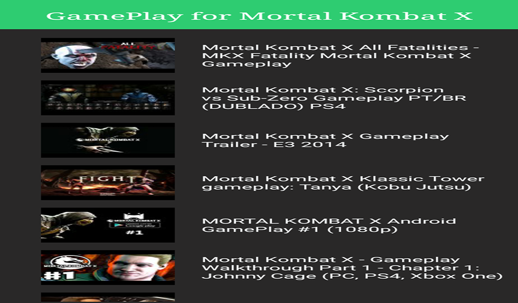 Guide For Mortal Kombat X: Amazon.es: Appstore para Android
