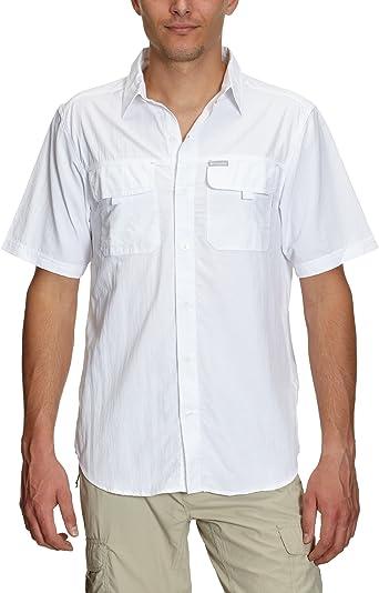 Columbia Island Press Silver Ridge - Camisa para Hombre: Amazon.es: Ropa y accesorios
