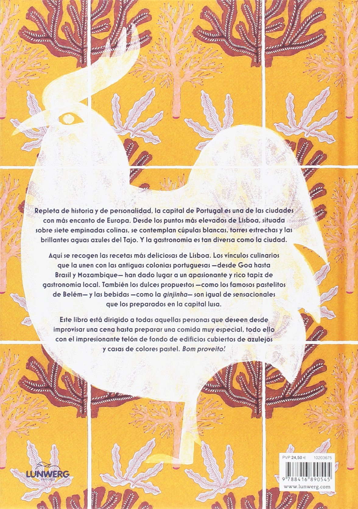 Lisboa. Recetas desde el coraz�n de Portugal: 9788416890545: Amazon.com: Books