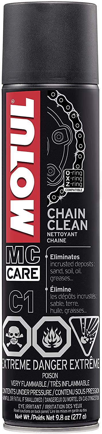 Motul c1 chain cleaner for motorcycle