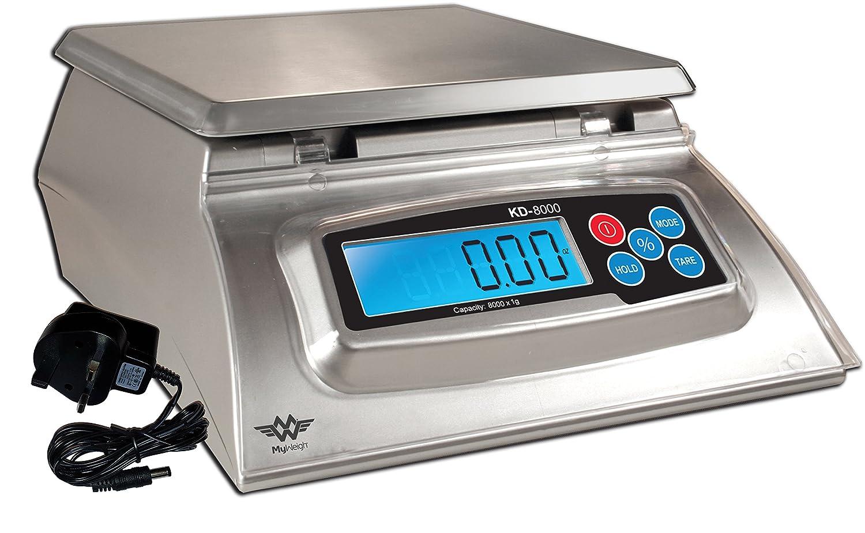 My Weigh KD8000 Báscula de cocina con masa ausbeute de ...