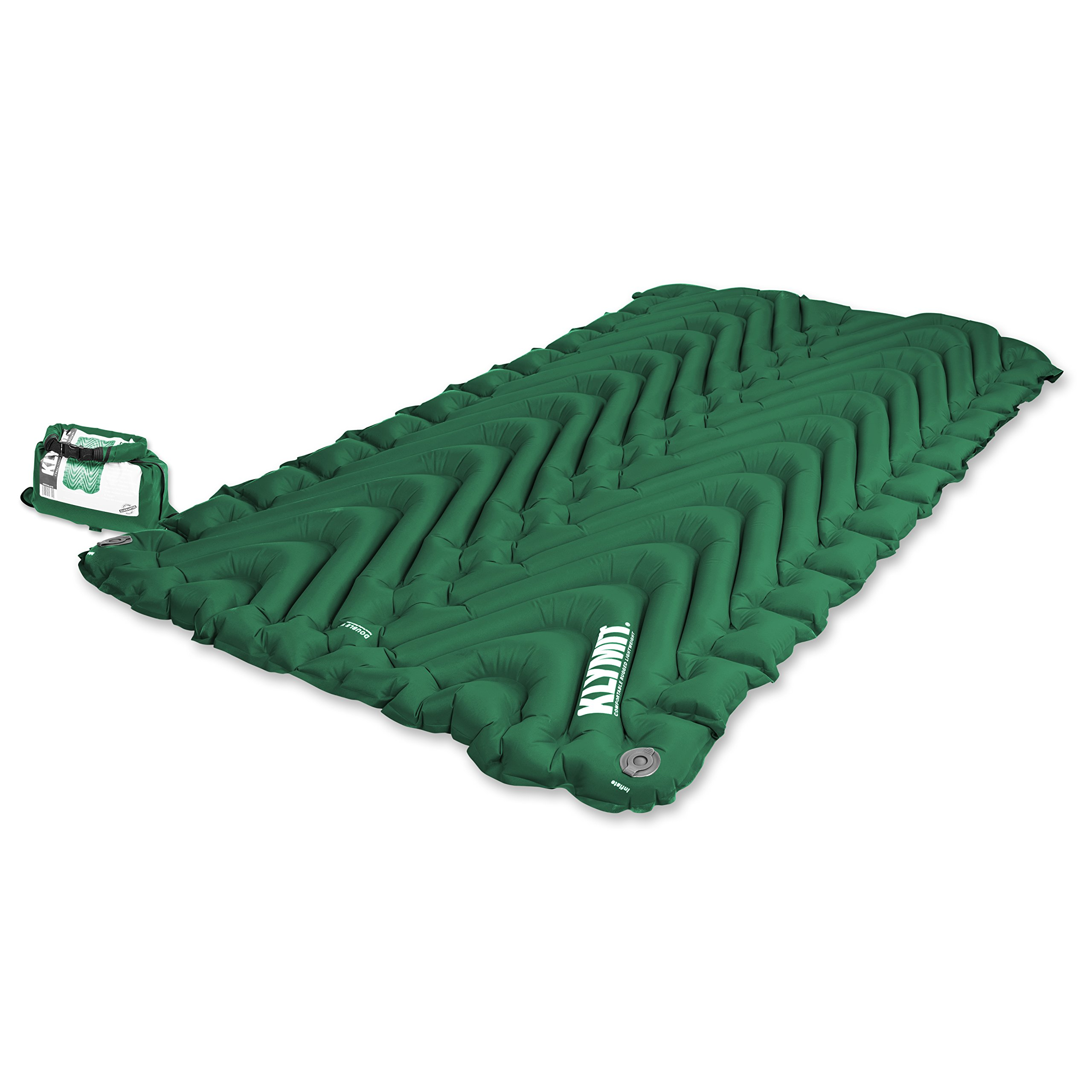 Klymit Double V Camping Sleeping Pad for Two
