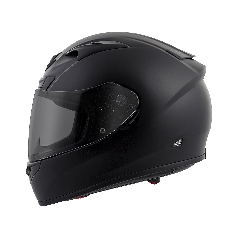 Scorpion EXO-R710 Solid Street Motorcycle Helmet (Matte Black, Large)